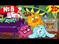 Все серии подряд. Часть 8 | Смешарики 2D в HD!