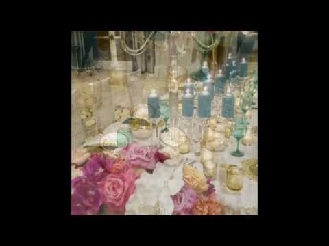 Custom Charger Plate and Wedding Menu Luxury Wedding