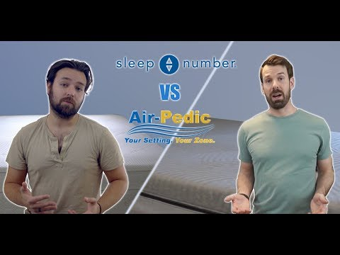 Sleep Number I8/ILE bed review and comparison to Air-Pedic 850 (ASL)