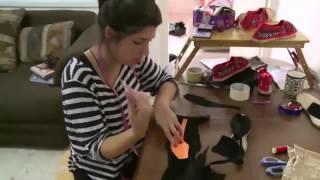سراي ....صانعة أحذية تدمج التراث الفلسطيني بالكتالوني