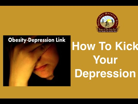 how to kick depression naturally