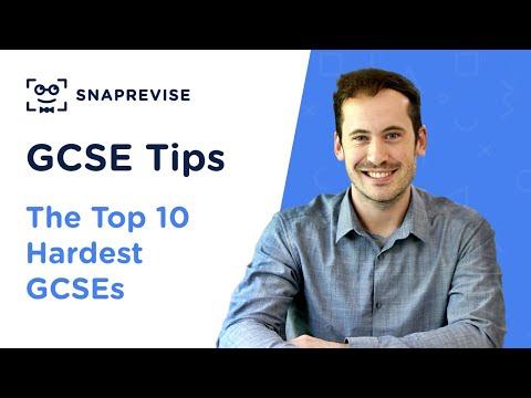 The Top 10 Hardest GCSEs