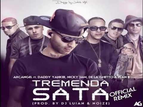 Arcangel Ft De La Ghetto, Plan B, Daddy Yankee Y Nicky Jam - Tremenda Sata ( Oficial Remix)
