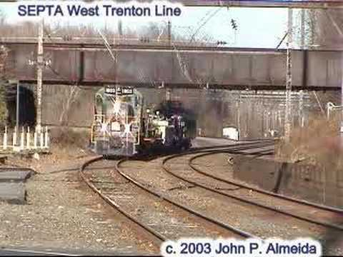 SEPTA Wire train with WCRR 1803