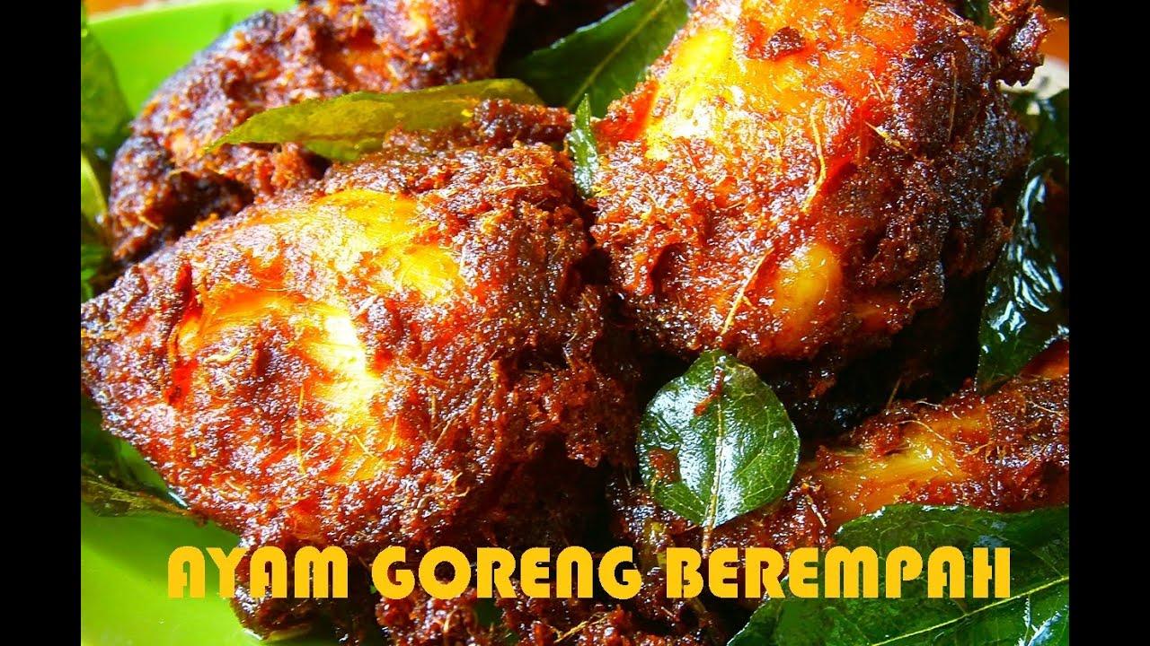 AYAM GORENG BEREMPAH - YouTube