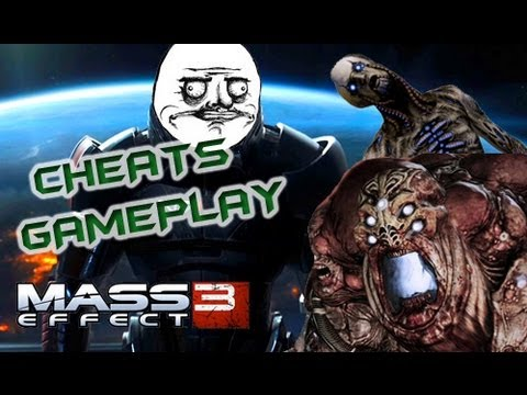 mass effect 3 gameplay con trucos