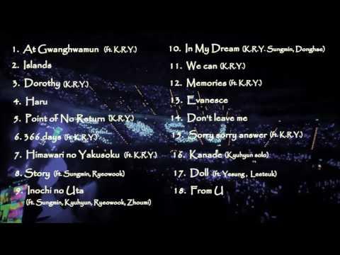[Audio]Super Junior | Super Junior K.R.Y Best Songs LIVE
