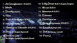 Audio Super Junior | Super Junior K.r.y Best Songs Live