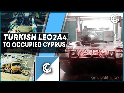 BREAKING: Turkey sends more German Leopard tanks to occupied Cyprus