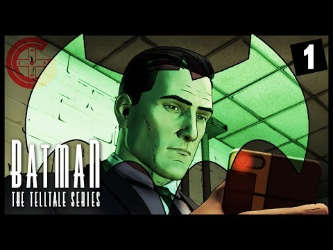 Batman Telltale Series EP2: She's A Vampire! (1/3)