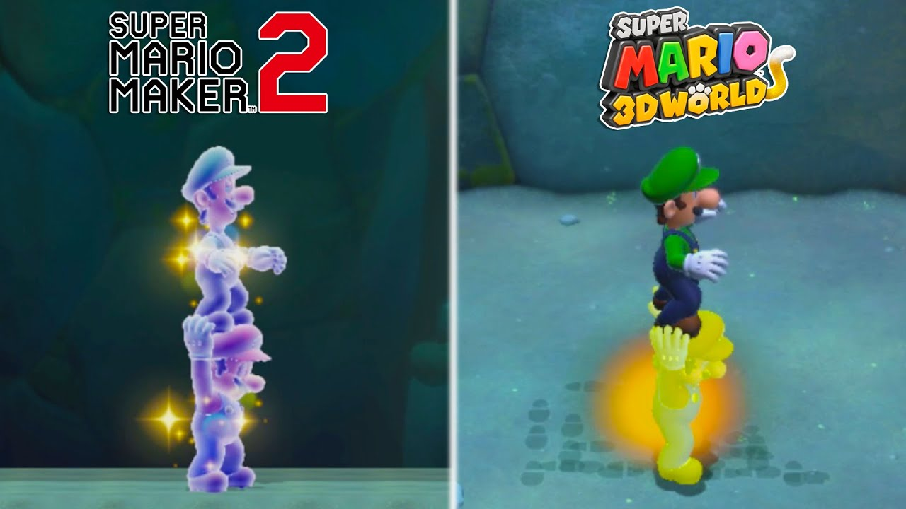 Download 25 Differences Between Super Mario 3D World and Super Mario Maker 2
