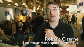 Robert Citerne - PCPTherapy - Médaille d'or aux Jeux paralympiques - Escrime