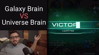 SC2 Ladder: When galaxy brain meets universe brain