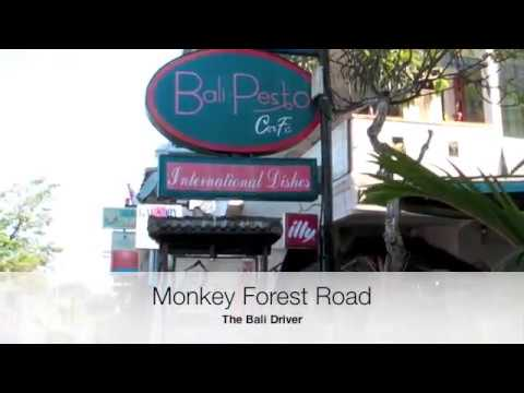 Bali - A Walk Down Monkey Forest Road