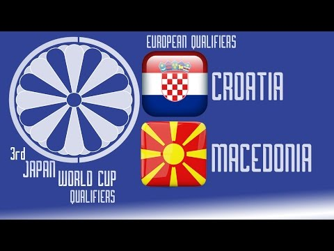 Croatia vs FYR Macedonia - PES2016 - 3rd Japan World Cup Qualifiers - 60fps