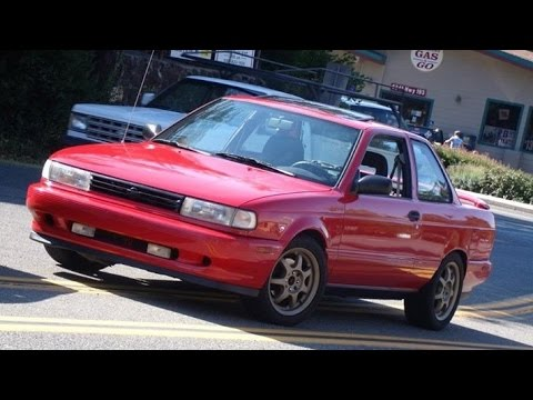 Modified 1992 Nissan Sentra SE-R - One Take