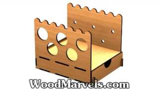 Build Your Own Wooden Desktop Organizer D (hd)!