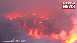 AMAZING LAVA FLOWS IN HAWAII