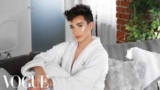73 questions with james charles vogue