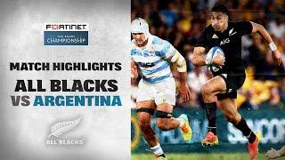 HIGHLIGHTS: All Blacks v Argentina (Brisbane)