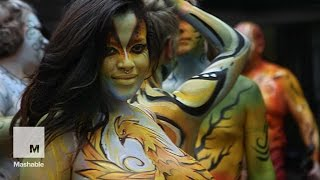 Bodypainting Day 2015: Nude Art in NYC | Mashable