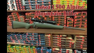 Howa 1500 Alpine Mountain Rifle Review & Hunt