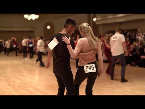 West Coast Swing | Tuan Nguyen + Charlotte Zell  | Advanced JnJ Prelim - Desert City Swing 2019