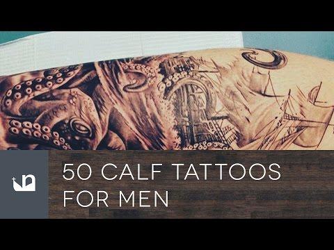 50 calf tattoos for men. Black Bedroom Furniture Sets. Home Design Ideas