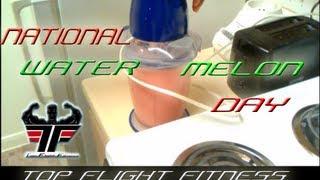 Watermelon Pie Smoothie Top Flight