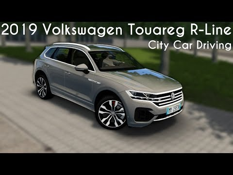 City Car Driving 1.5.8 - 2019 Volkswagen Touareg R-Line - Custom Sound - Buy Link
