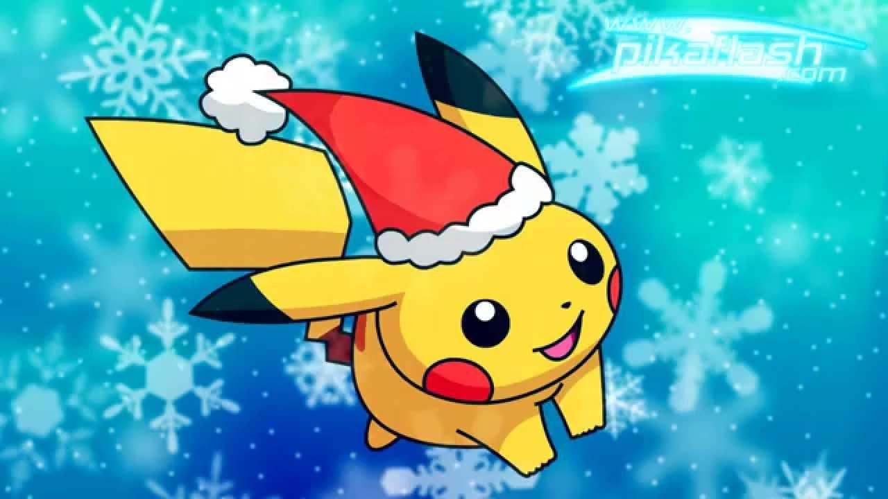 Christmas Pikachu.I M Giving Santa A Pikachu For Christmas With Lyrics