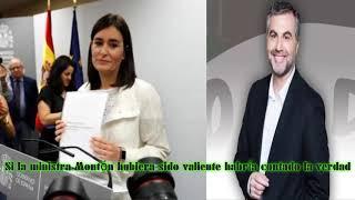 ALSINA: Si la ministra Montón hubiera sido valiente habría contado la verdad