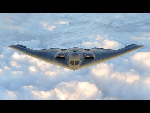 USAF Northrop B-2 Spirit Stealth Bomber - Miami Beach Air Show, 2017