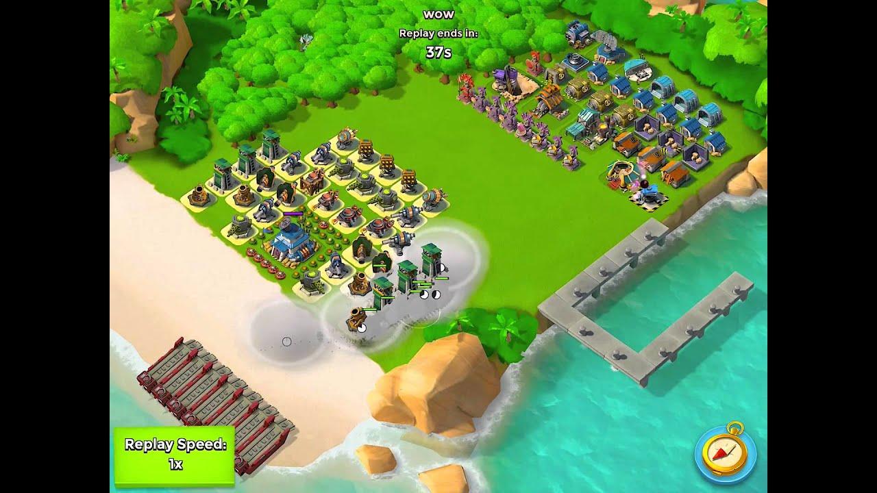 boom beach defense