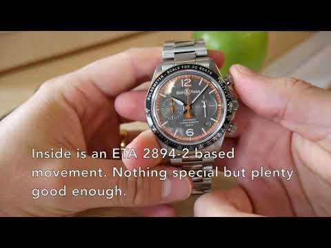 595f315ec Up Close: The Bell & Ross BR V2-94 Coastguard - YouTube