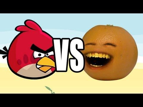 Annoying Orange vs Angry Birds: ORANGE