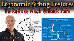 Ergonomic Sitting Postures To Reduce Neck & Back Pain (Comprehensive Live Stream) - Dr Mandell