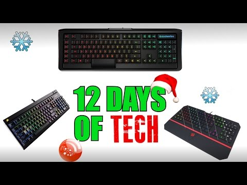 The Best Gaming Keyboards | 12 Days of Tech