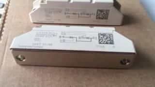 Original New SEMIKRON 60A 1600V Thyristor Diode Module SKKT57/16E