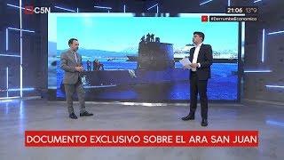 Exclusivo: El documento que había revelado los desperfectos del submarino ARA San Juan (parte 1)
