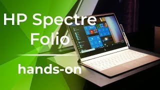 HP Spectre Folio hands-on: A folio like no other