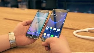 Samsung Galaxy S7 vs S7 edge: Quick Comparison