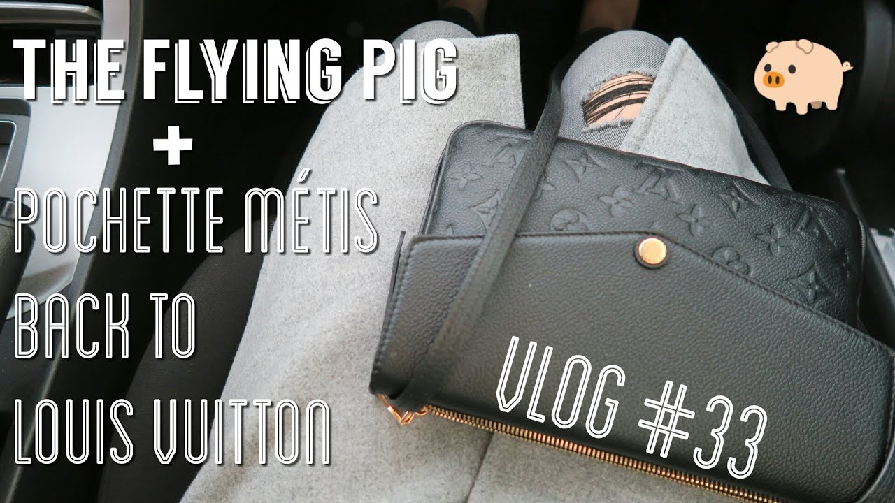 The Flying Pig Pochette Metis Back At Louis Vuitton For Repair