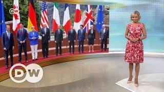 Трамп себе не изменил, или Итоги визита президента США в Европу   DW Новости (26 05 2017)