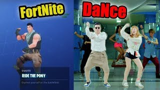 Popular Fortnite Dance Moves in Real Life | Fortnight Dance Emote Reference IRL - LB 😂