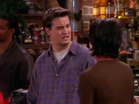 "Friends - Chandler's ""English/British Accent"""
