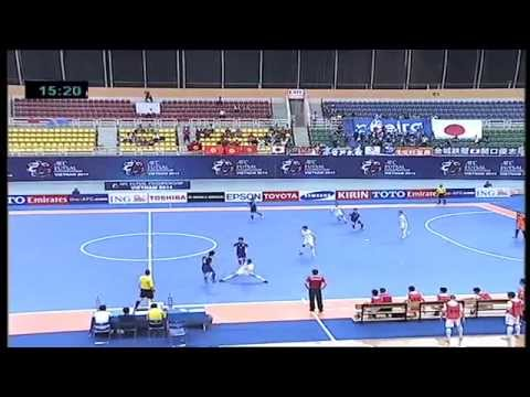 Japan vs Kyrgyzstan - AFC Futsal Championship 2014 (Group Stage)