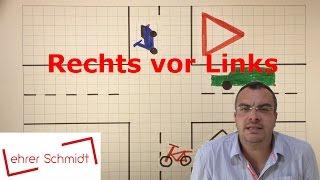 Rechts vor Links | Sachunterricht - Verkehrserziehung | Grundschule