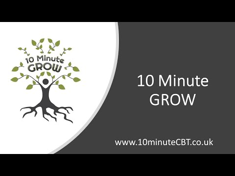 10 Minute GROW - Supporting Mental Health in young people