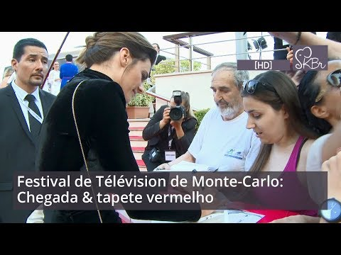Stana Katic & Absentia cast @ Monte Carlo TV Festival: Arrivals & red carpet [HD]